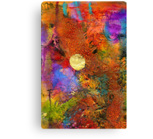Metallic Sunset Canvas Print