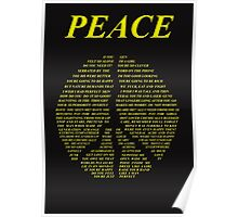 Peace - Happy People Lyrics Poster