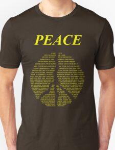 Peace - Happy People Lyrics Unisex T-Shirt
