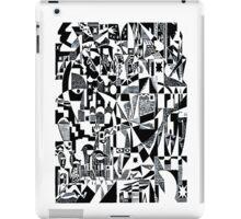 Black & white dada retro iPad Case/Skin