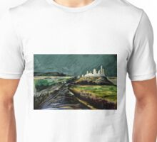 Down the pilgrim road Unisex T-Shirt