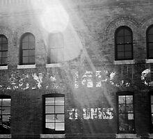 B&W Denver Wall by Jake Kauffman