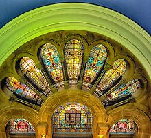 Colour and Light - QVB, Sydney Australia - The HDR Experience by Philip Johnson