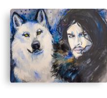 Game of Thrones-  Jon Snow Metal Print