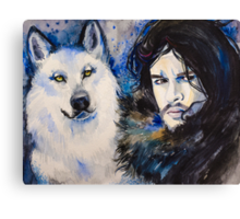 Game of Thrones-  Jon Snow Canvas Print