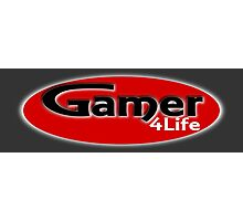 Gamer 4 Life Photographic Print
