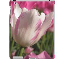 Pink Tulip in spring iPad Case/Skin
