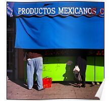 Productos Mexicanos Poster