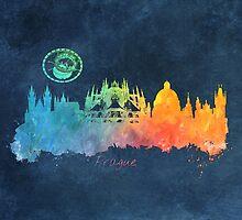 Prague colored  by JBJart