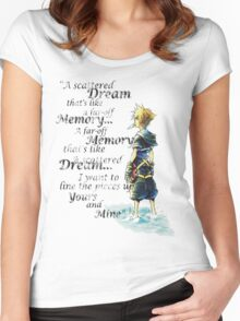 Quote from the heart Women's Fitted Scoop T-Shirt