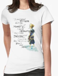 Quote from the heart Womens Fitted T-Shirt