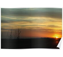 Sunsetting on Travels Poster