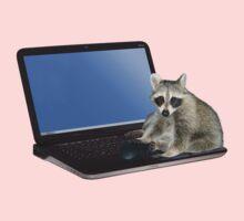 Secretary Raccoon Kids Tee