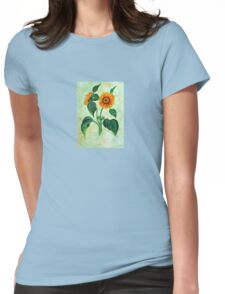 Vintage Sunflowers  Womens Fitted T-Shirt