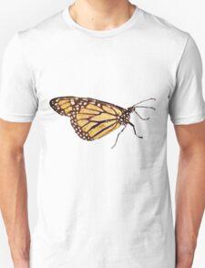 Monarch Butterfly Print T-Shirt