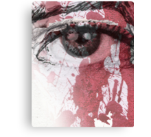 your blood in my eye Canvas Print