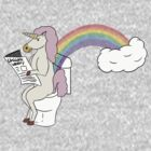 Unicorns Poop Rainbows by pimator24