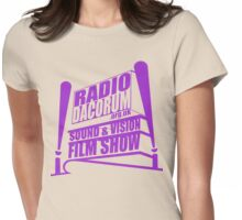 Radio Dacorum Sound and Vision Film Show v2 Womens Fitted T-Shirt