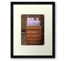 Butterbeer Cargo Framed Print