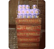 Butterbeer Cargo Photographic Print