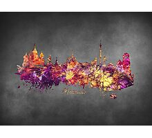 Skyline Moscow Photographic Print