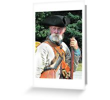 Ye Olde Rebel Patriot Greeting Card
