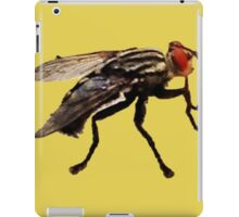 Fly Print On Gold iPad Case/Skin