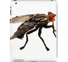 Fly Print On White iPad Case/Skin