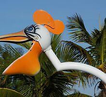 Playground Pelican by Scott Dovey