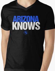 Discreetly Greek - Arizona Knows - Nike parody Mens V-Neck T-Shirt