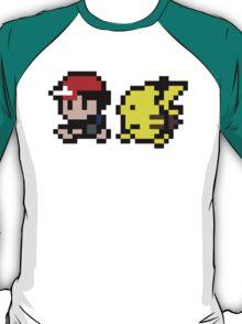 Ash and Pikachu T-Shirt