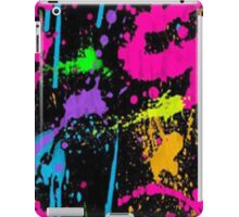 splater paint- ipad case iPad Case/Skin