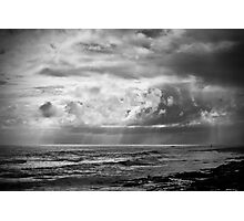 Looking Back To Craster Photographic Print
