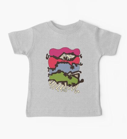 Dissolve Abstract 4 Baby Tee