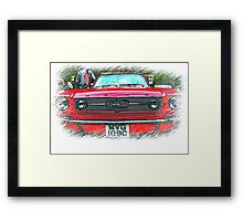Yes Sally ..it's a Mustang! Framed Print