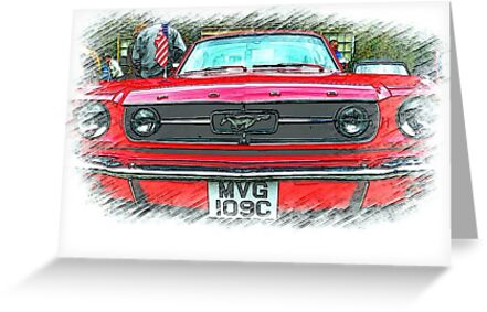 Yes Sally ..it's a Mustang! by oulgundog