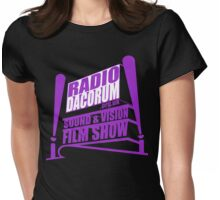 Radio Dacorum Sound & Vision Show V3 Womens Fitted T-Shirt