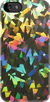 rainbow confetti - iphone case by ksully