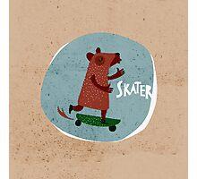 Skater Photographic Print