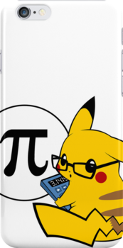 Pi-kachu Sticker & Cases by Mariotaro Designs