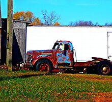 old truck by ShellyKay