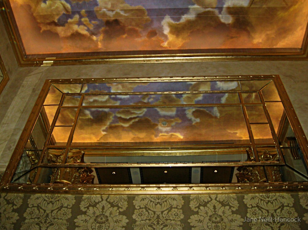 Ceiling Reflections, The Venetian, Garfield NJ by Jane Neill-Hancock