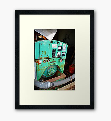 cool looking farm equipment Framed Print