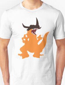 Simplistic Greymon Unisex T-Shirt