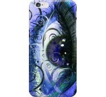 Abstract Blues Eye iPhone Case/Skin