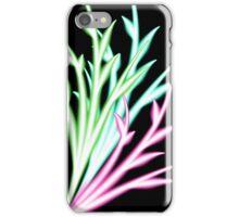 Neon Branch Flourish One iPhone Case/Skin