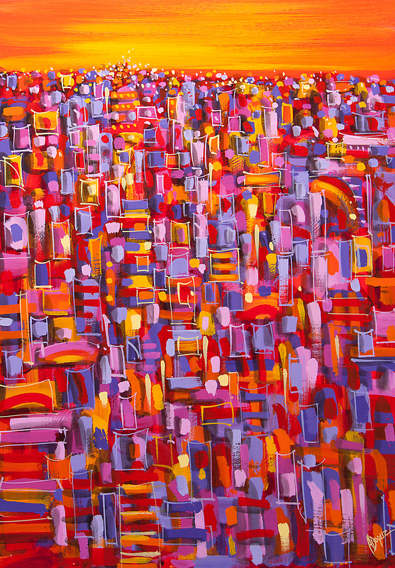 Urban Lights by Adam Bogusz