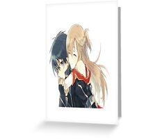 Kirito x Asuna  Greeting Card