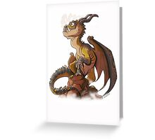 It's a dragon! Greeting Card