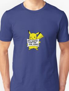 Pikachu Jobless Pokemon T-Shirt